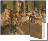 The Dance Class, c.1875 Prints by Degas Edgar