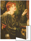 Veronica Veronese Wood Print by Dante Gabriel Rossetti