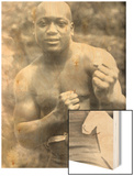 Jack Johnson, Heavyweight Champion of the World Wood Print