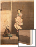 Japan, Geisha Wood Print