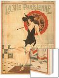 La vie Parisienne, Leo Fontan, 1923, France Wood Print