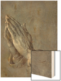 Praying Hands Wood Print by Albrecht Dürer