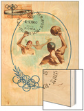 Olympic Water Polo Wood Print