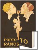 Porto Ramos-Pinto Wood Print by Rene Vincent