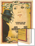 CHINATOWN, Italian poster, from left: Jack Nicholson, Faye Dunaway, 1974 Wood Print