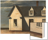 High Noon Wood Print by Hopper Edward