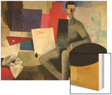 The Seated Man, or The Architect Prints by Roger de La Fresnaye