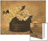 Park Avenue Hydrangea Wood Print by Cristin Atria