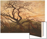 The Tree of Crows Posters by Caspar David Friedrich