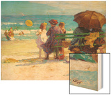 A Family Outing Wood Print by Edward Henry Potthast