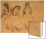 Three Dancers Posters by Degas Edgar