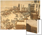 Chicago's Lincoln Park Wood Print by Mark McMahon