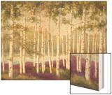 Plum Forest Floor Prints by Jill Schultz McGannon