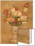 Tulipes Wood Sign by Renoir Pierre-Auguste