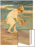 Brighton Beach Wood Print by Edward Henry Potthast