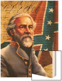 General Robert E. Lee Wood Print
