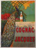 Cognac Jacquet Wood Print by Camille Bouchet