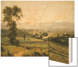 The Lackawanna Valley Wood Print by George Inness