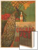 Cognac Jacquet, circa 1930 Wood Print by Camille Bouchet