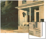 Seven A.M. Wood Print by Hopper Edward