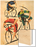 Cyclists Posters
