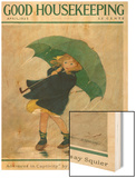 Good Housekeeping, April 1922 Wood Print by Jessie Willcox-Smith