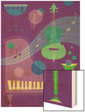 Musical Instrument Montage Posters