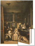 Las Meninas (The Maids of Honour or the Family of Philip IV) Wood Print by Diego Velazquez