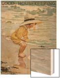 Good Housekeeping, August, 1918 Wood Print