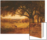 Spithead, Uppark, Sussex Wood Print by George Cole