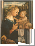 Madonna and Child with Angels Prints by Filippo Lippi