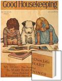 Good Housekeeping, October, 1930 Wood Print
