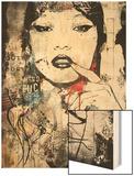 Princess of China Wood Print by Alex Cherry