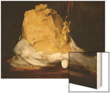 Mound of Butter Wood Print by Antoine Vollon