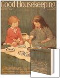 Good Housekeeping, August, 1924 Wood Print