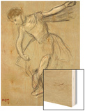 A Dancer Seen in Profile Prints by Degas Edgar