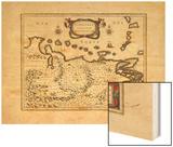 1640, Venezuela Wood Print