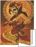 Dia De Los Muertos Marionettes - Savannah, Ga Prints by  Lantern Press