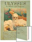Ulysses Wood Print