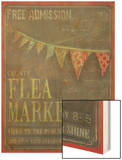 Country Flea Market Wood Print by Mandy Lynne