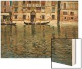 The Grand Canal, Venice Wood Print by Carlo Brancaccio