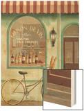 Wine Store Errand Wood Print by Fabiano Marco