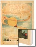 Winken and Blinken Are Two Little Eyes Wood Print by Eugene Field