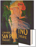 San Pellegrino Vintage Poster - Europe Posters by  Lantern Press