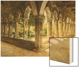 Cefalu Cloisters, Sicily, 1911 Wood Print by Josef Theodor Hansen
