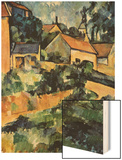Road Curve In Montgerout Wood Sign by Cézanne Paul