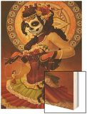 Day of the Dead - Marionettes Wood Print by  Lantern Press