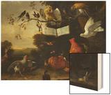 A Concert of Birds Print by Melchior de Hondecoeter
