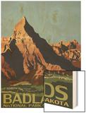 Badlands National Park, South Dakota Prints by  Lantern Press