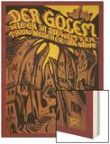 Der Golem Wood Print